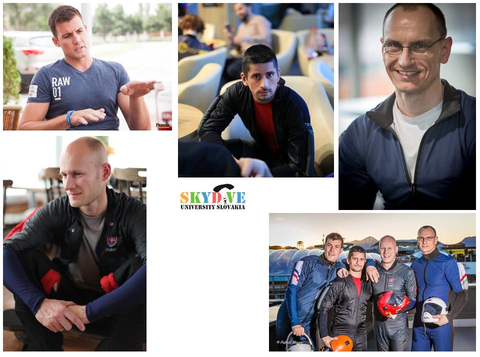 Tím Skydive University majstrom Slovenské republiky v indoor skydivingu!