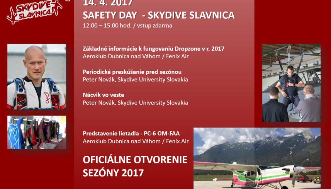 Safety Day – Skydive Slávnica