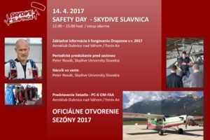 Safety Day – Skydive Slávnica